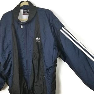 Vintage Adidas Nylon Jacket Full Zip Unisex XL